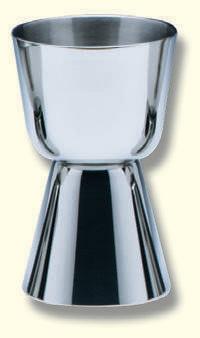 Einzelkelch, Edelstahl, 7,5cm hoch, cupa Ø 4,5cm