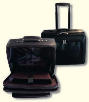 Koffer schwarz für Talar/Robe