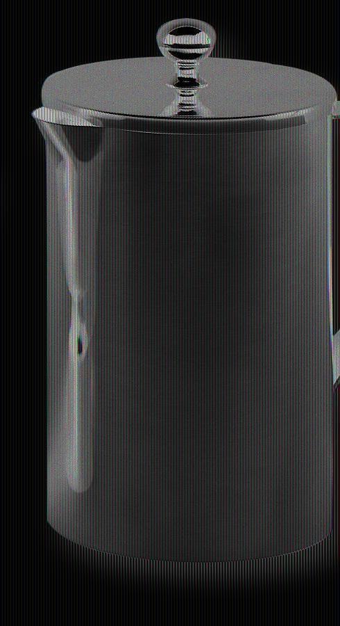 Weinkanne, 1,5 l, 24cm hoch, Edelstahl, poliert