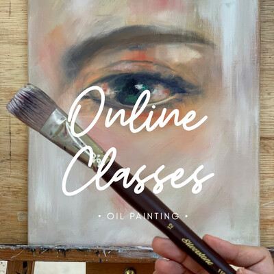 Online Classes // Oil 2 Tutorials Value Pack