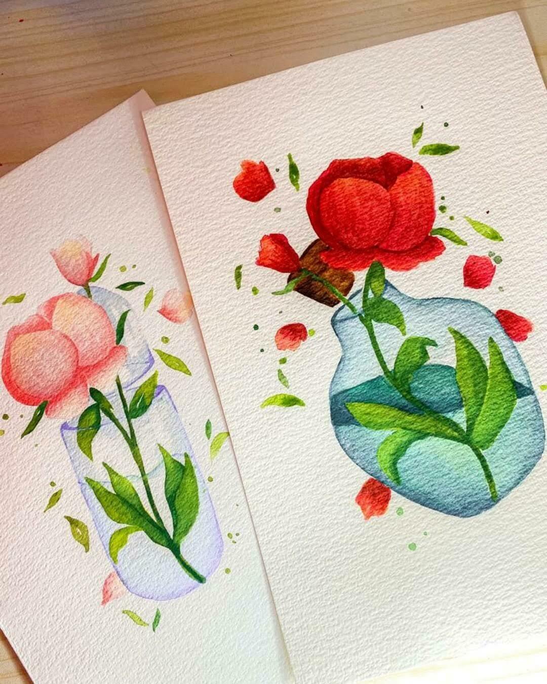 Online Live Workshop // Watercolor Peonies