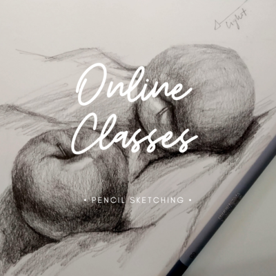 Online Classes // Basic Pencil Sketching 2 Videos pack