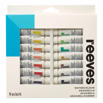 Starter Kit - Reeves Watercolor 18 Colors