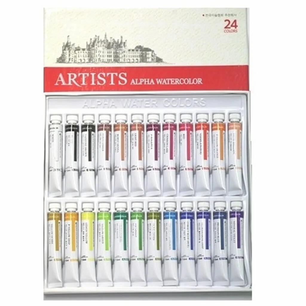 Starter Kit - Alpha Watercolor 24 Colors