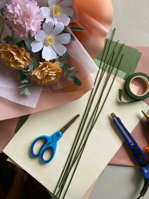 8th May // PAPER FLOWER MAKING WORKSHOP