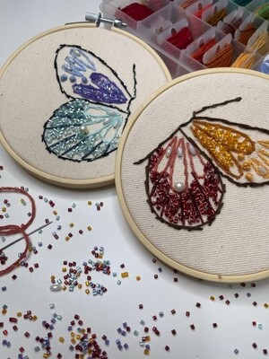 PROMO! 2nd May // Weekend with ARTtherapy - Minimalist Embroidery