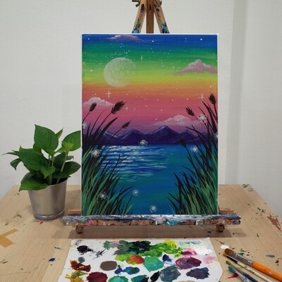 PROMO! 15th May // Weekend with ARTtherapy - Acrylic Painting