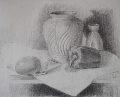 PROMO! 15th May // Weekend with ARTtherapy - Still Life Sketching