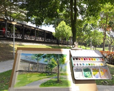 PROMO! 16th May // Weekend with ARTtherapy - Plein Air Watercolor & Ink