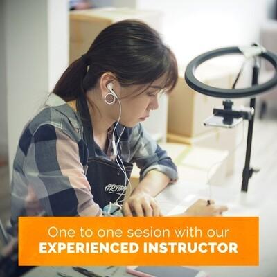 Online Interactive Class // 1-1 Art Class