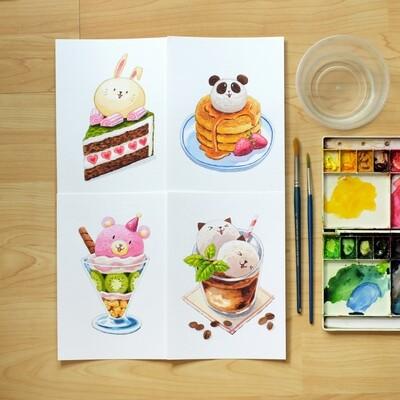 ARTivity Box Artist Series - Cute Dessert Watercolor