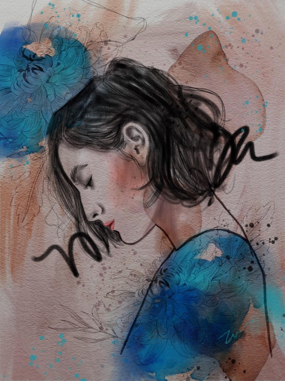 Online Interactive Workshop 26th Sept // Digital Illustration Stylish Portraiture