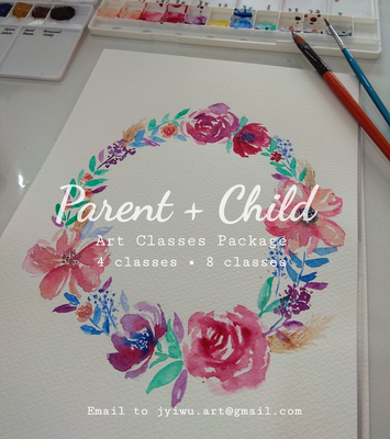 Parent + Child Art Class