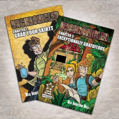 Unchronicled Issue 1 & 2 comic book bundle