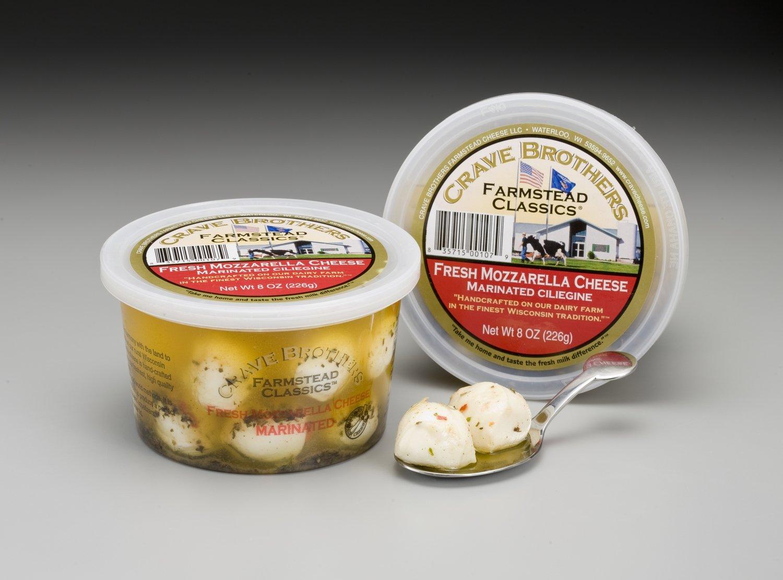 Marinated Fresh Mozzarella Ciliegine