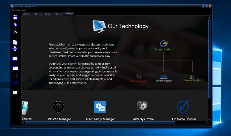 EZ Screen Capture Pro