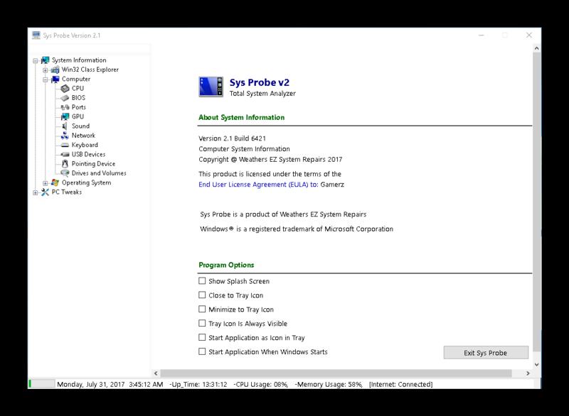 Sys Probe Pro v2