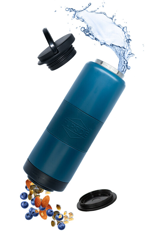 Dual Chamber Water Bottle - OceanView