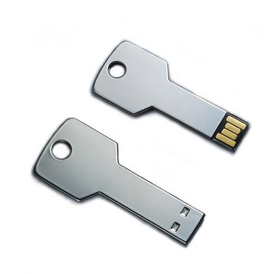 Key USB Stick Chrome 1GB