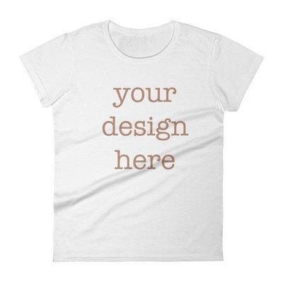 Customizable Women's short sleeve t-shirt