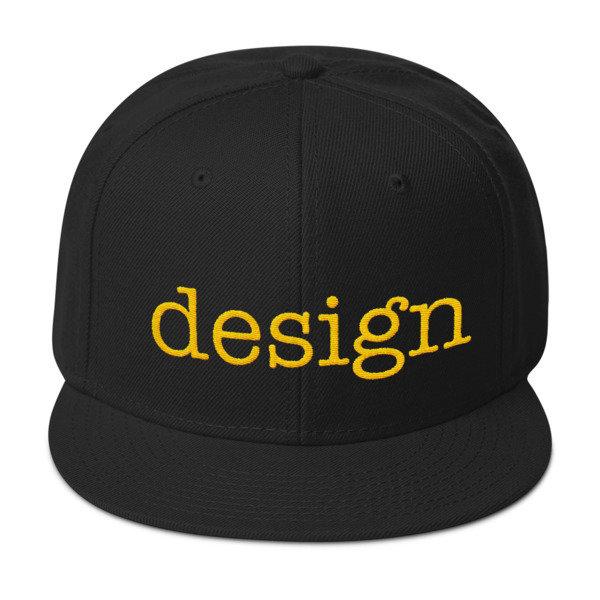 Customizable Snapback Hat