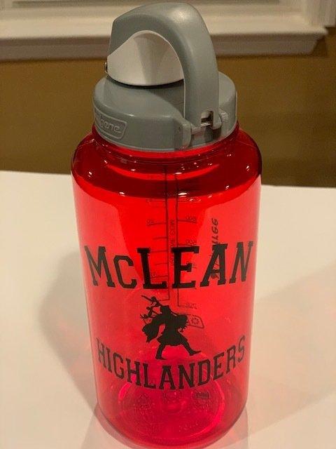 McLean 32 oz BPA-free Nalgene bottles