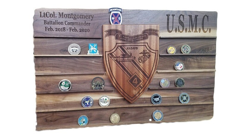 Wall Mount Display Coin Holder
