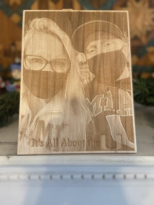 Laser Engraved Picture
