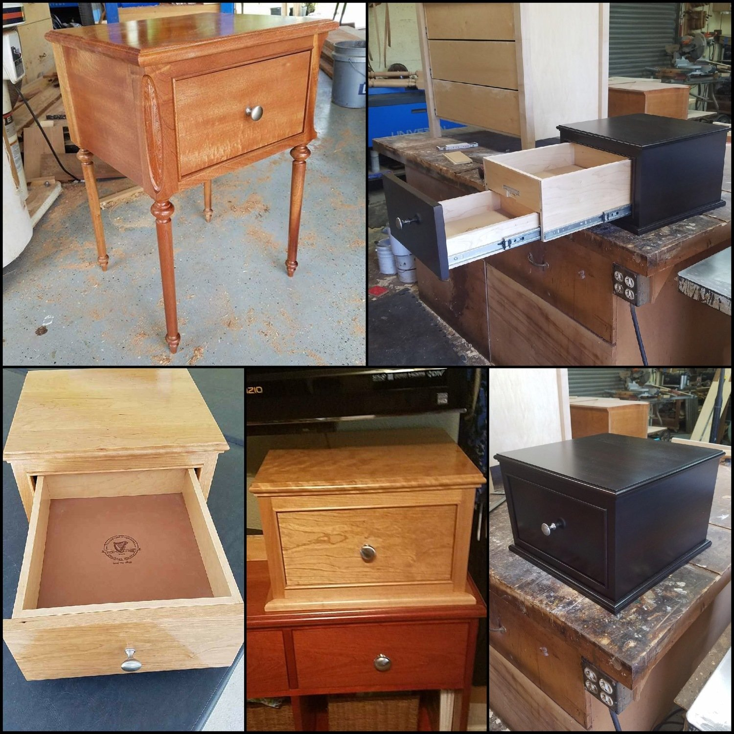 Secret Compartment Drawer With RFID Lock System