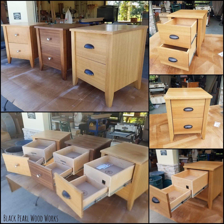 Secret Compartment Bedside/End Table Set