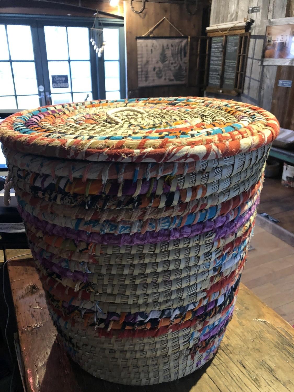 Large Pop Top Chindi Basket