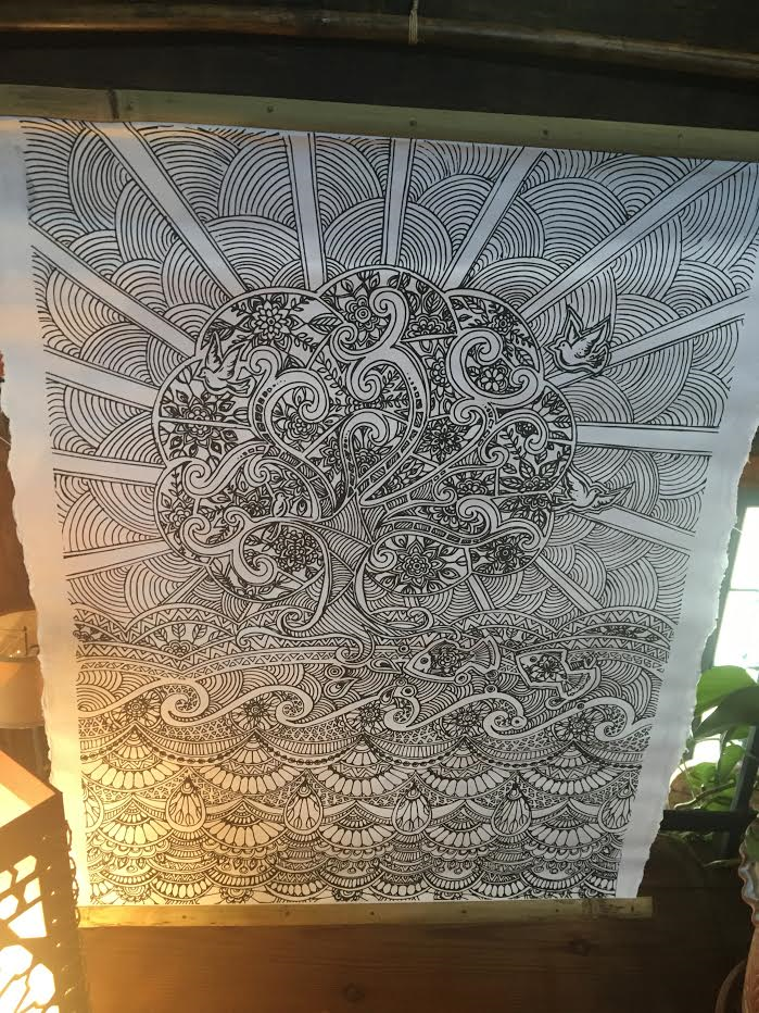 Wall Art: Color Your Own Tree of Life
