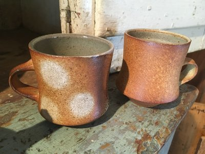 Soda Fired Tea Cups