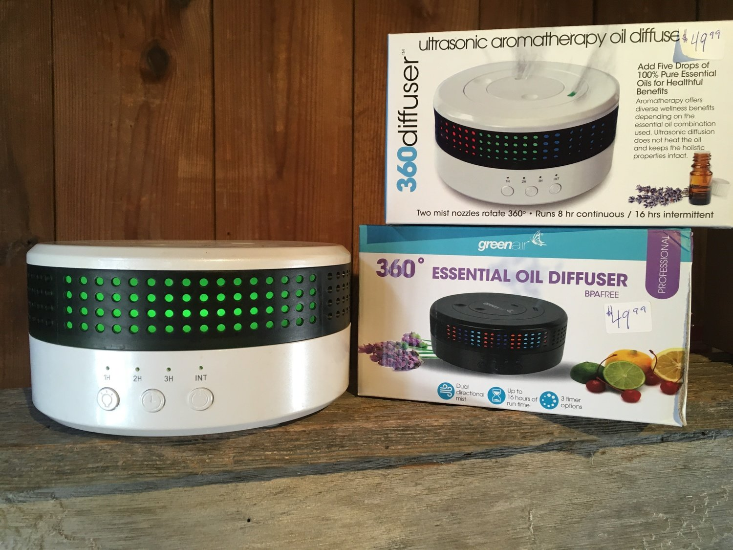360 Essential Oil Diffuser