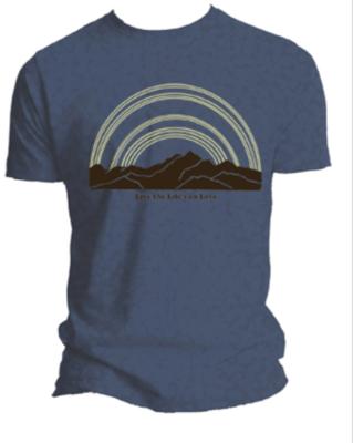 Sunny Mountain Recycled SHORT SLEEVE/PURPLE/WOMENS