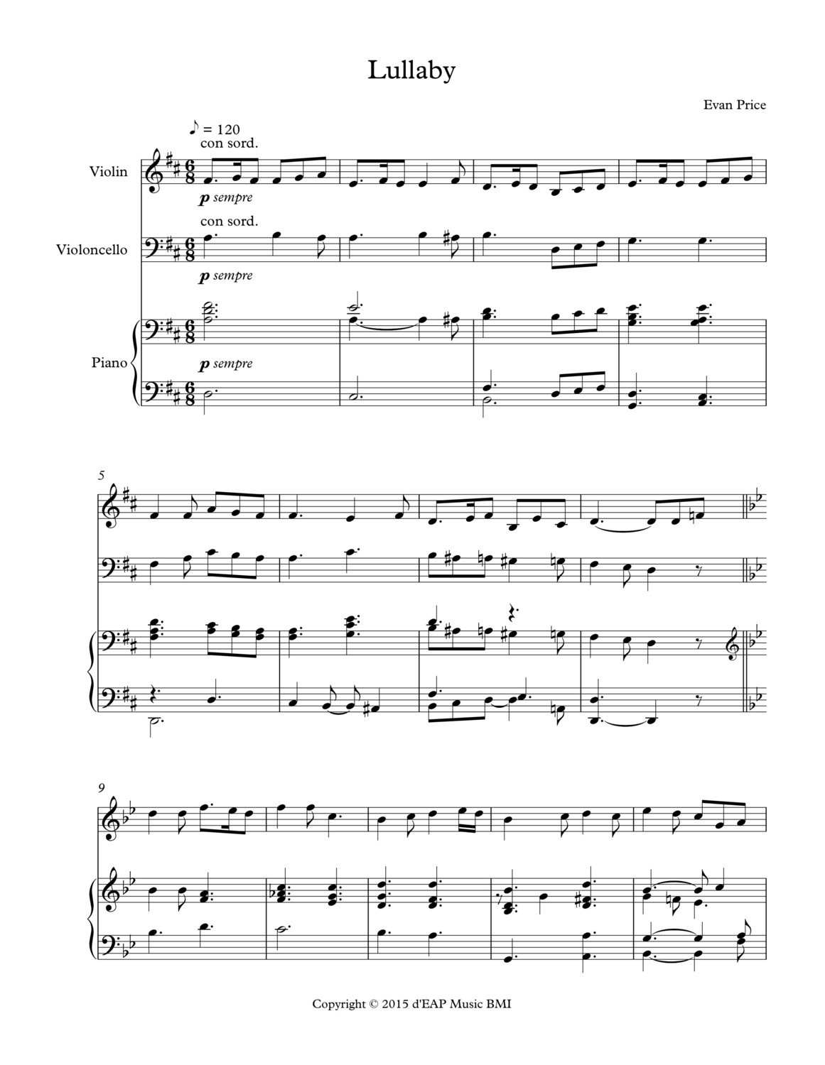 Lullaby for piano trio (pdf)