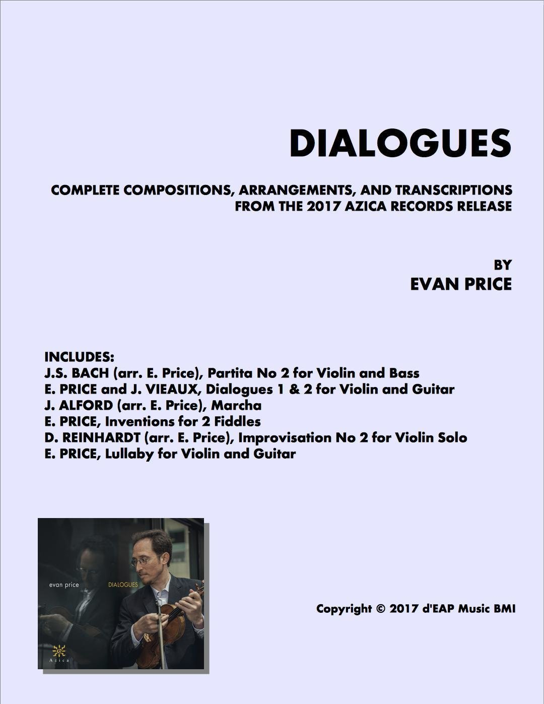 """""""Dialogues"""" Complete Music Folio"""