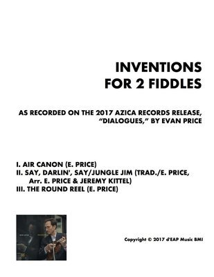 Inventions for 2 Fiddles