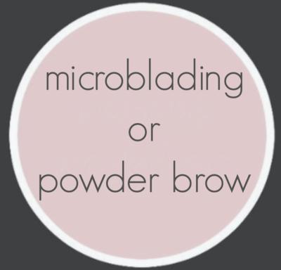 MICROBLADING/POWDER BROW DEPOSIT