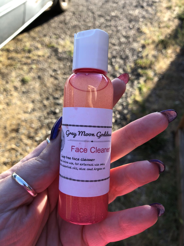 Rose & Argan Fused Soapless Face Cleanser