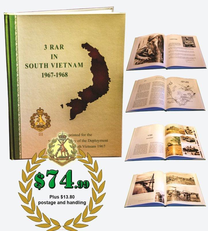 3 RAR IN SOUTH VIETNAM 1967-1968