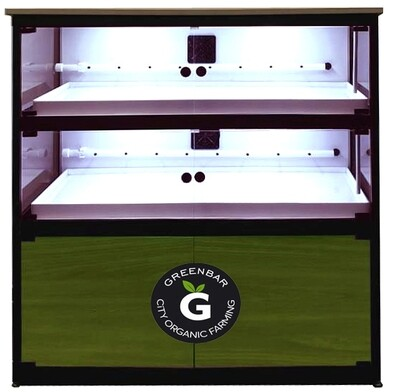 GREEN-BAR-М2 Гидропонная закрытая установка для выращивания микрозенели
