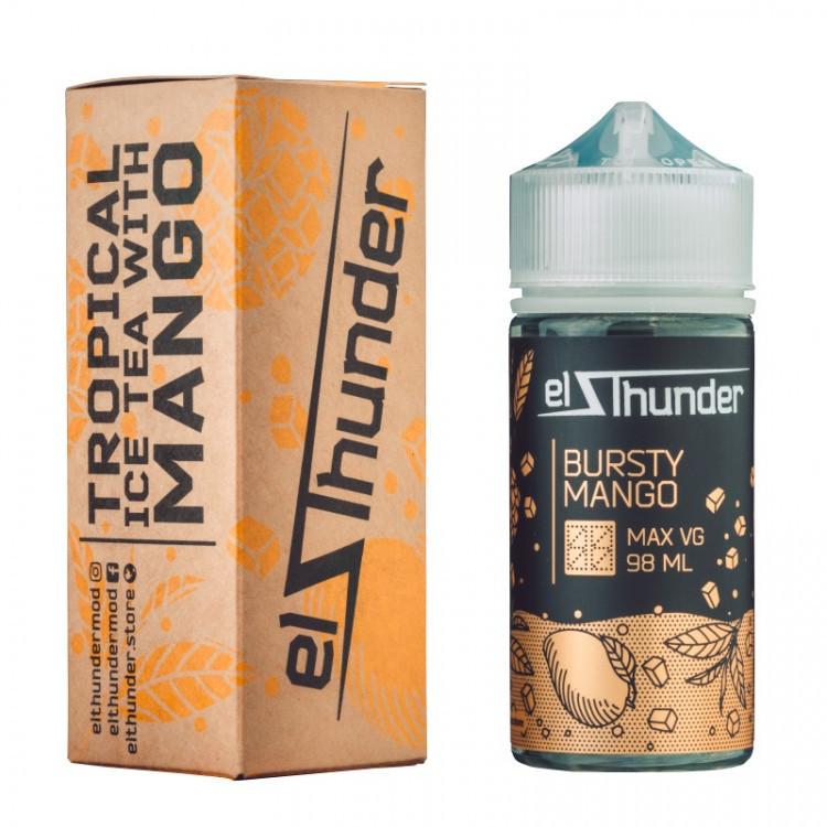 EL THUNDER: BURSTY MANGO 98ML 0MG