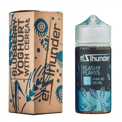 EL THUNDER: FLASHY FLAKES 98ML 0MG