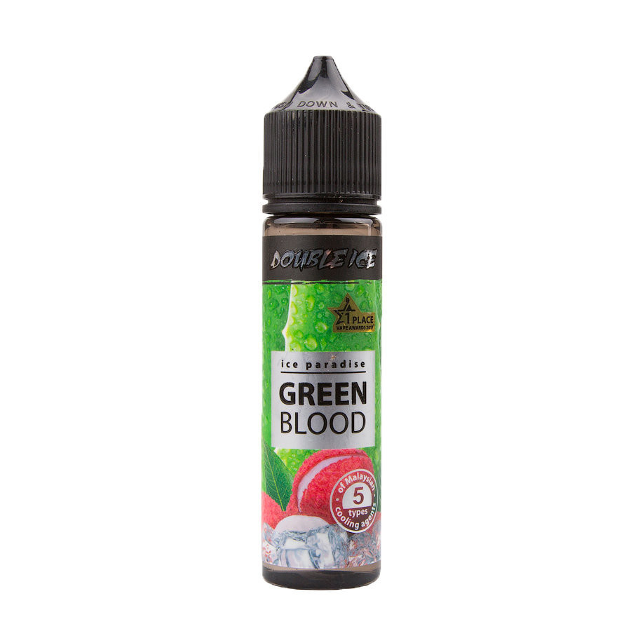 ICE PARADISE DOUBLE ICE: GREEN BLOOD 60ML 0MG