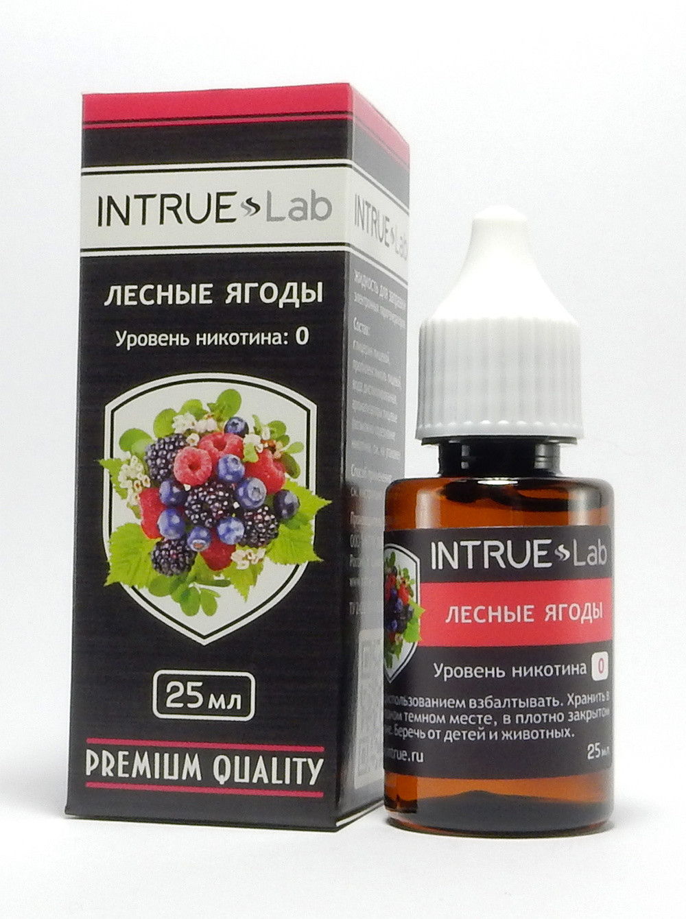 INTRUE LAB: ЛЕСНЫЕ ЯГОДЫ 25ML 12MG