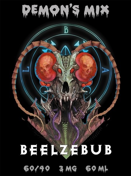 DEMON'S MIX: BEELZEBUB 60ML 12MG