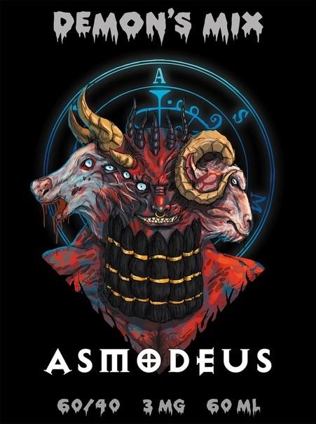 DEMON'S MIX: ASMODEUS 60ML 12MG