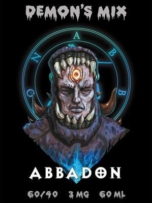DEMON'S MIX: ABBADON 60ML 6MG
