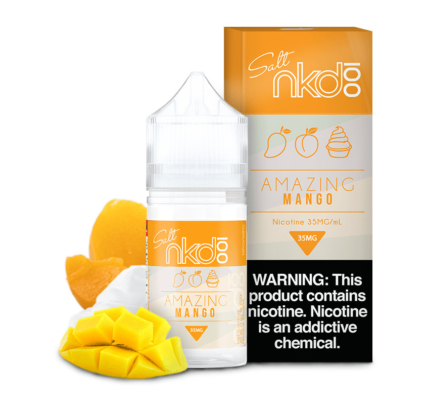 NAKED 100 SALT: AMAZING MANGO 30ML 50MG
